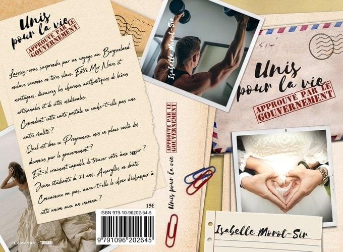"""Couverture du livre d'Isabelle Morot-Sir """"Unis pour la vie, approuvé par le gouvernement"""""""