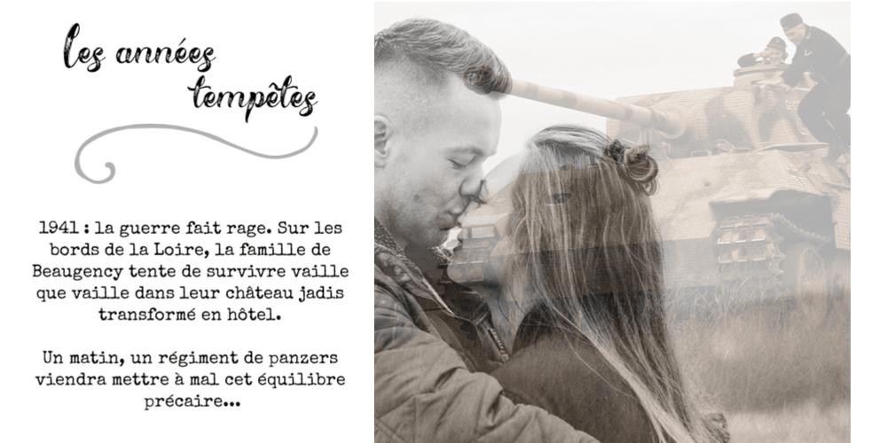 """lecture audio du livre """"Les années tempêtes"""" d'Isabelle Morot-Sir"""