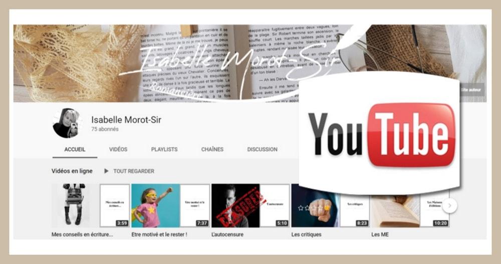 La chaîne YouTube d'Isabelle Morot-Sir
