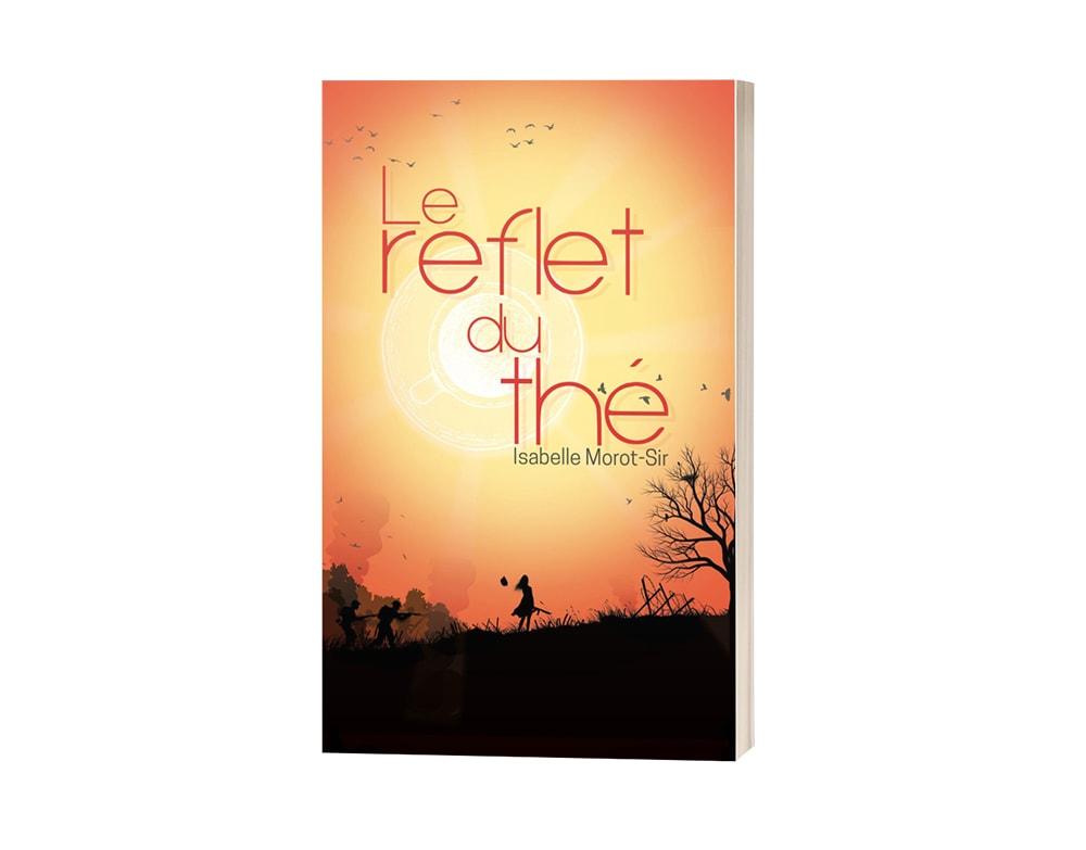 "Livre ""Le reflet du thé"" d'Isabelle Morot-Sir"