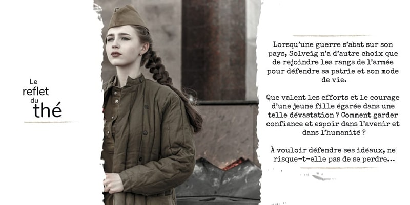 """Présentation du résumé du livre """"Le reflet du thé"""" d'Isabelle Morot-Sir"""