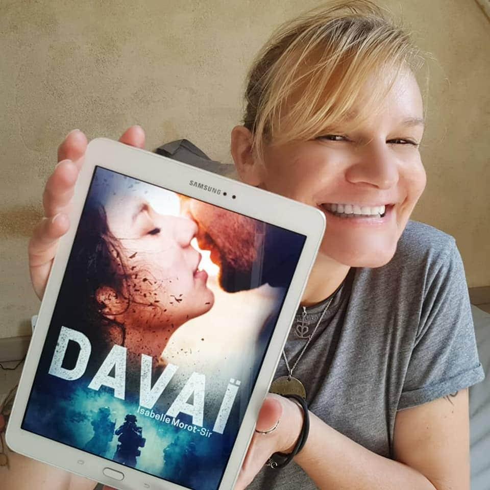 Isabelle Morot-Sir et son livre Davaï